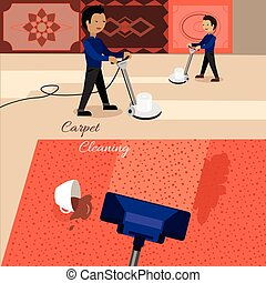 Carpet Cleaning Service - Carpet cleaning service banner....