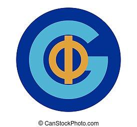 Phi and G Logo Design - Phi and G Logo Concept Design