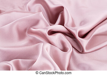 Silk fabric - Pink silk fabric for background.