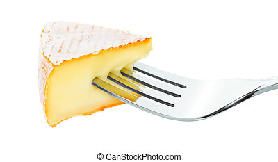 cheese and fork