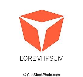 Cube Logo Design Concept.