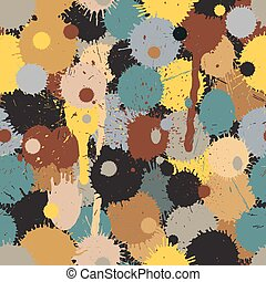 Paintball camouflage seamless pattern
