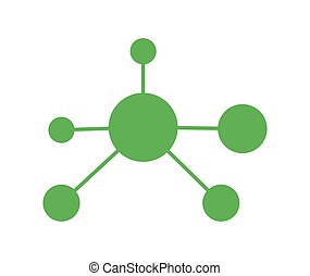 Nano Technology Icon Design. EPS 8 supported.