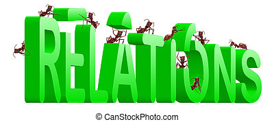 building relations - relationship building by ants