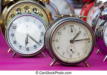 Vintage Clock at a flea market