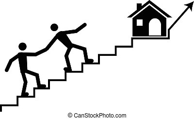 iving a hand or support to a struggling member to climb to destiny due to high mortgage or rental rate.