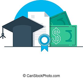 Tuition money, finance education, scholarship - Education...