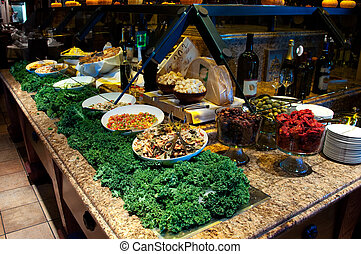 Gourmet Salad Bar - Brazilian steakhouse fine dining gourmet...