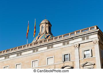 Generalitat de Catalunya - Building of the Generalitat de...