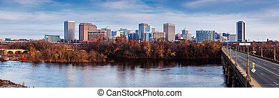 Panorama of Richmond - Panoramic view of Richmond. Richmond,...