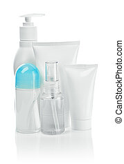 small cosmetical composition isolated