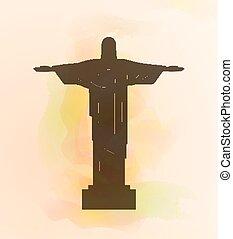 Rio de Janeiro Jesus Christ the redeemer statue. - Rio de...