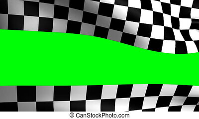 background checkered flag Formula one with space for your...