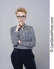 Studio shot photography of young woman