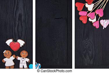 gingerbreads,  Valentines, día