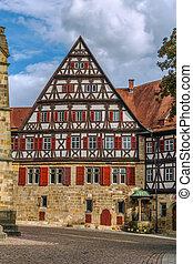 Speyrer Zehnthof, Esslingen am Neckar, Germany - Building of...