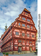 Old Town Hall, Esslingen am Neckar, Germany - Old Town Hall...