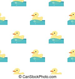 Duck toy cartoon icon. Illustration for web and mobile...
