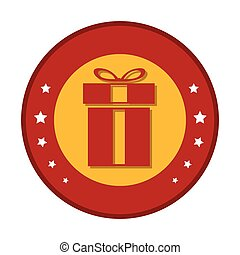 giftbox present isolated icon vector illustration design