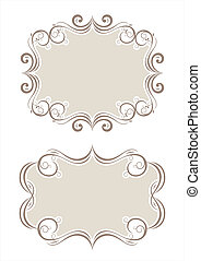 decorative border - collection of decorative frame pattern