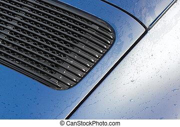 vehicle panel raindrops