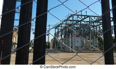 Two videos of electricity power station in 4K-professional...