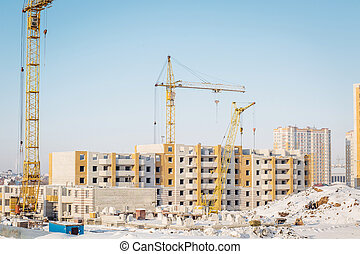 construction of new residential buildings.