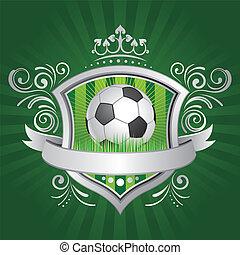 futebol, escudo