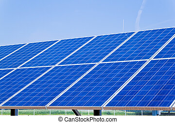 Alternative Solar Energy Solar power plant - Renewable,...