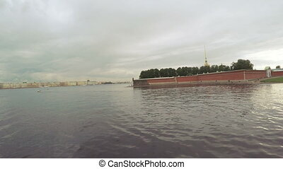 View of Peter and Paul Fortress - RUSSIA, SAINT PETERSBURG,...