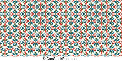 Hungarian pattern - Seamless pattern design inspired by...