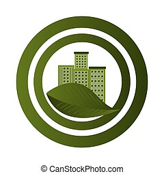 green city ecology buildings