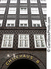 Germany, Hamburg, - Chile House - famous and...