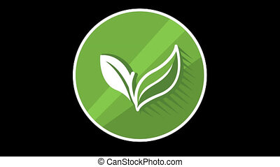 Plant Flat Icon With Alpha Channel - We offer you a...