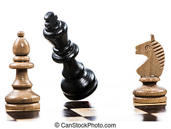 Game of chess with a falling king - Checkmate - Game of...