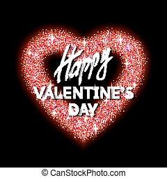 Happy Valentine's Day Unusual Jewelry Glittering...