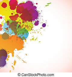 abstract background with stains