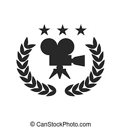 film festival black logo - Film Award for the best film in...