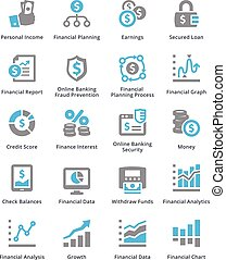 Personal & Business Finance Icons Set 5 - Sympa Series -...