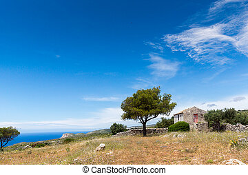 Small church and land  in Zakynthos,Ionian Islands