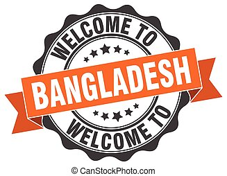 Bangladesh round ribbon seal