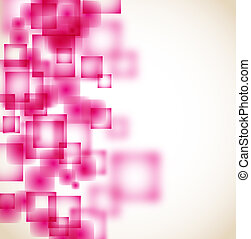 abstract pink square background eps10