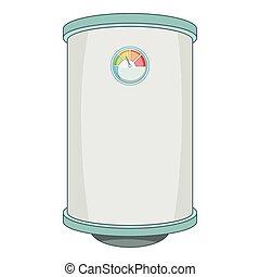 Boiler icon, cartoon style