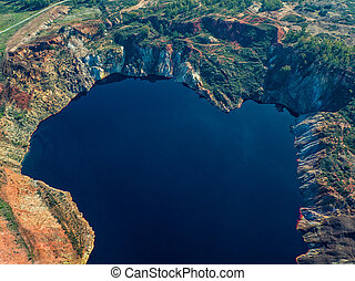 Abandoned Old Copper Extraction Sao Domingos Mine
