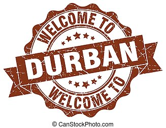 Durban round ribbon seal