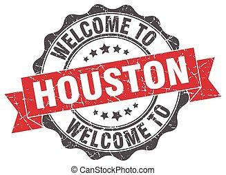 Houston round ribbon seal