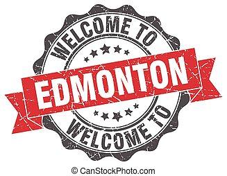 Edmonton round ribbon seal