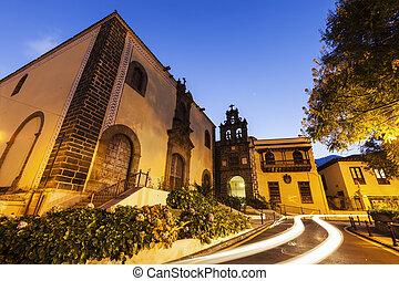 San Agustin Church in La Orotava. Orotava, Tenerife, Canary...