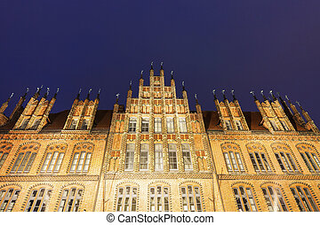 Old Town Hall in Hanover - Old Town Hall of Hanover....