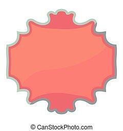 Carton tag icon, cartoon style - Carton tag icon. Cartoon...